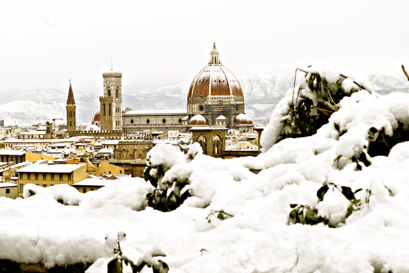Florence At Winter Stock Photography