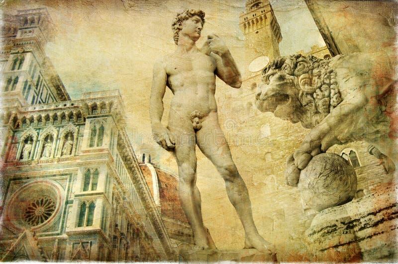 Florencia hermosa foto de archivo