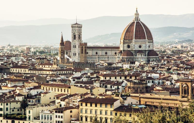 Florencia hermosa, Toscana, Italia, ciudad cultural histórica imagen de archivo