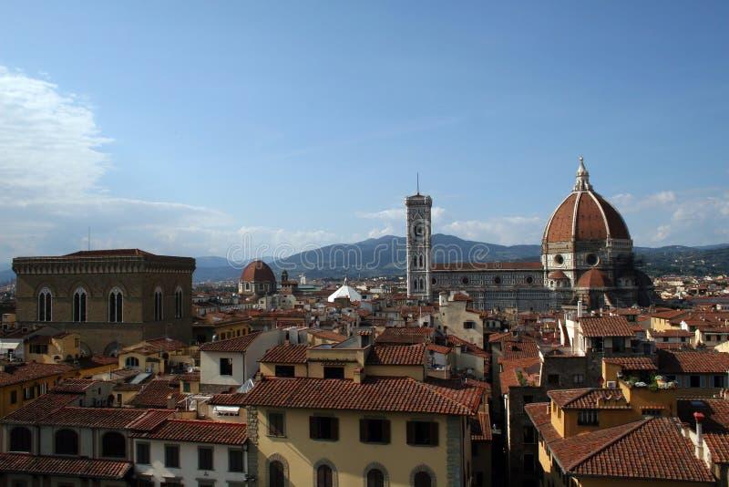 Florencia Italia y el Duomo fotos de archivo libres de regalías