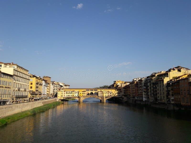 Florencia Ponte Vecchio imagen de archivo