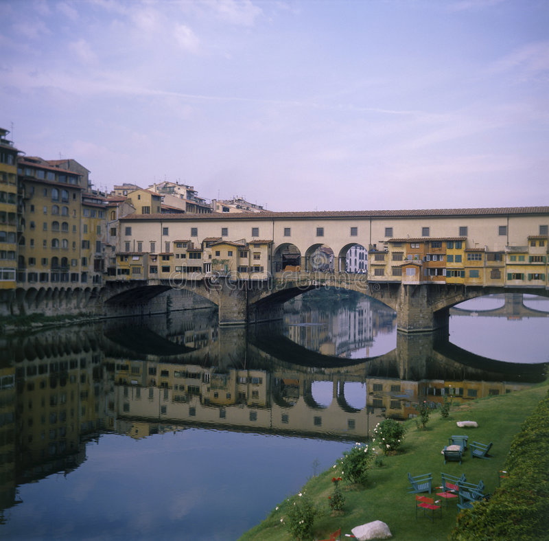 Download Florencia: Ponte Vecchio foto de archivo. Imagen de ciudad - 183644