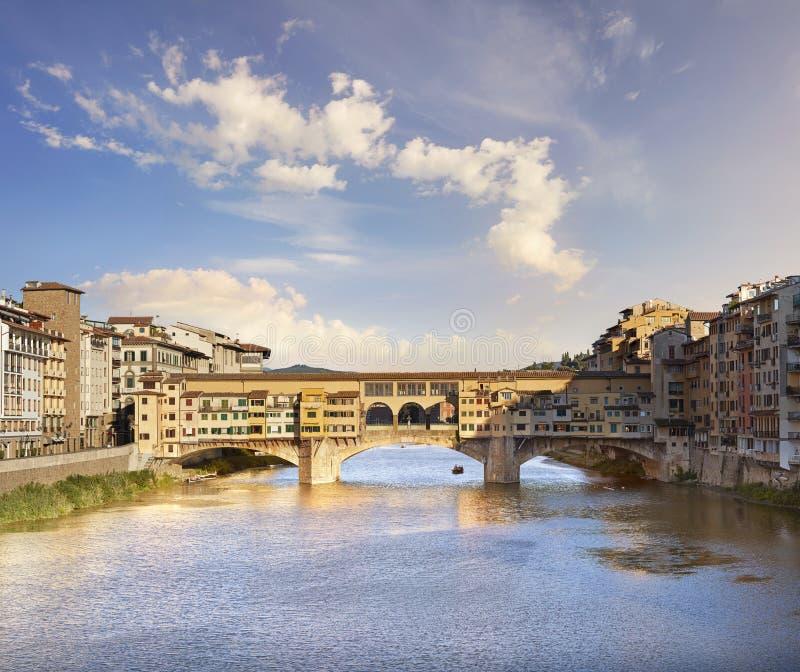 Florencia, Ponte Vecchio foto de archivo libre de regalías