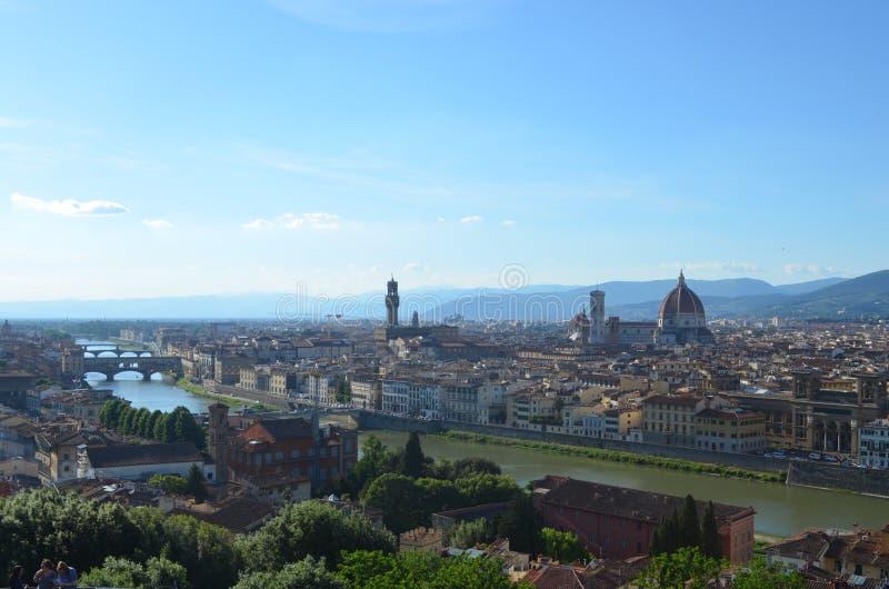 Florencia y Santa Maria del Fiore fotografía de archivo