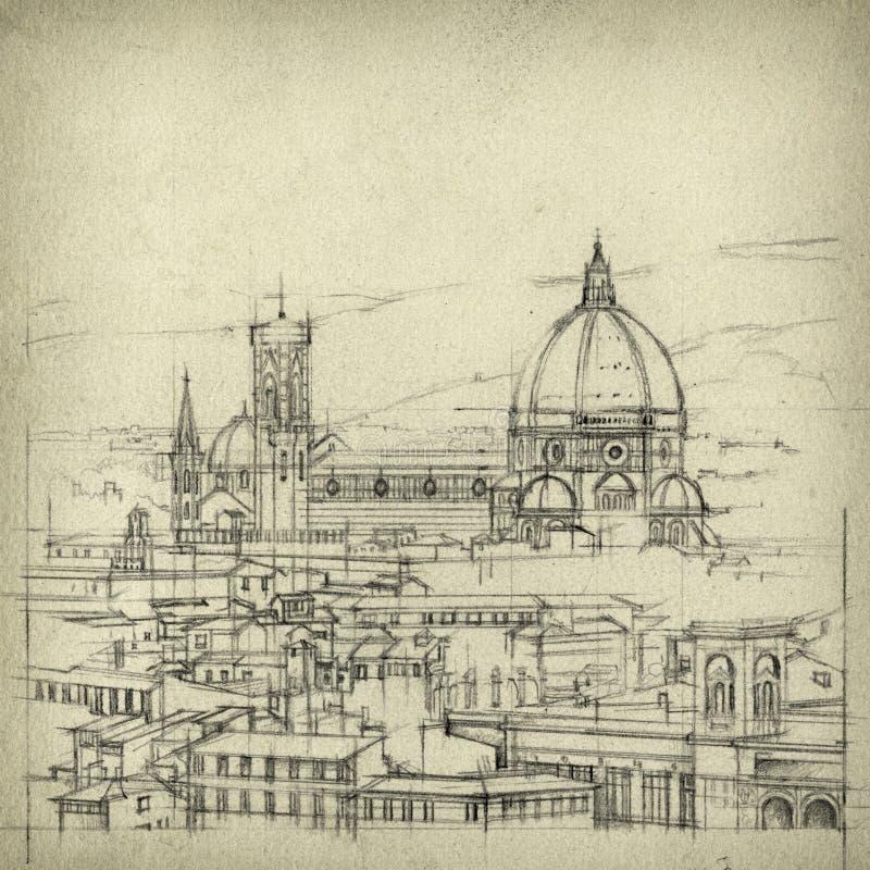 Florencja ilustracji