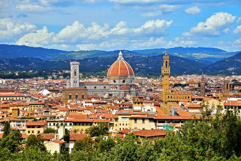 Florencja, bazyliki Di Santa Maria del Fiore zdjęcie stock