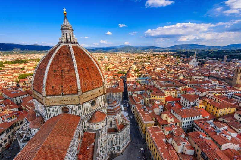 Florencja Duomo Bazyliki Di Santa Maria del Fiore bazylika święty Mary kwiat w Florencja zdjęcia stock