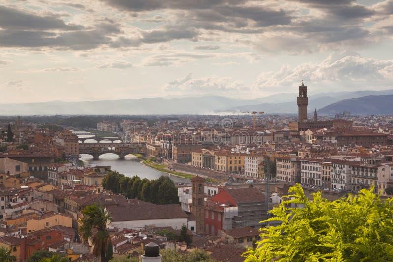 Florencja miasta widok fotografia stock