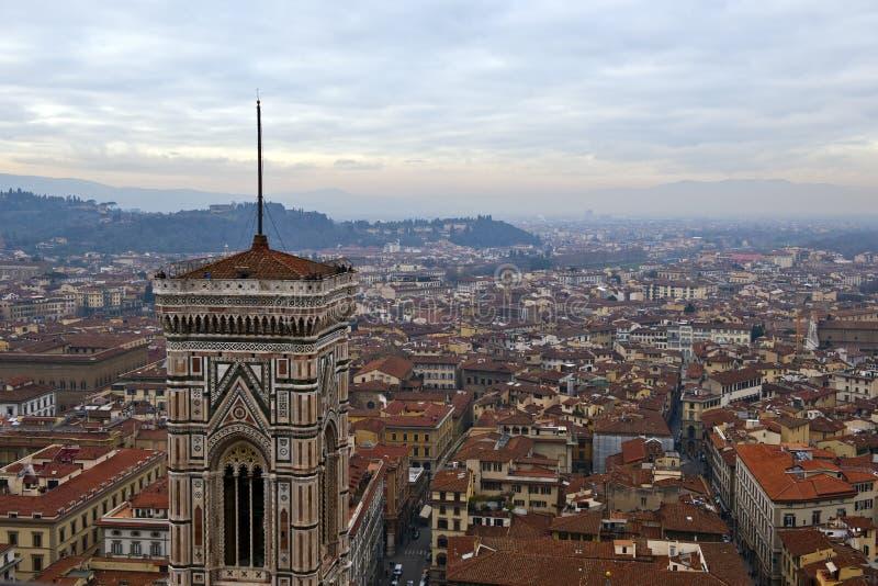 Florencja miasta widok obraz royalty free