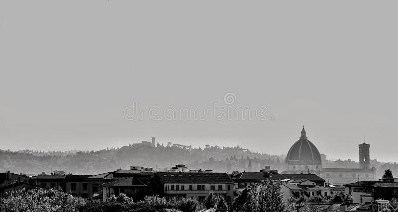 Florencja od Orticultura ogródu obrazy stock