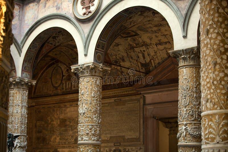 Florencja, Palazzo - Vecchio fotografia royalty free