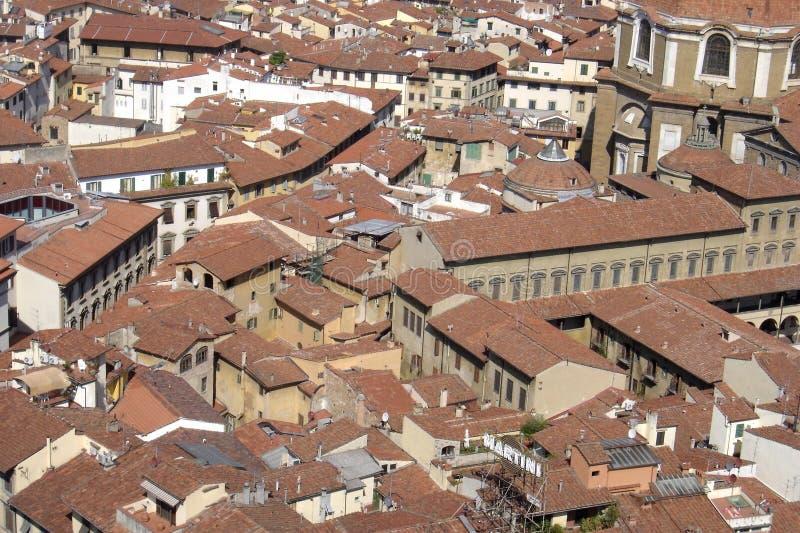 Florencja, panoramiczny widok miasto Florence, Tuscany, Italy fotografia stock