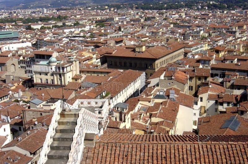 Florencja, panoramiczny widok miasto Florence, Tuscany, Italy obraz stock