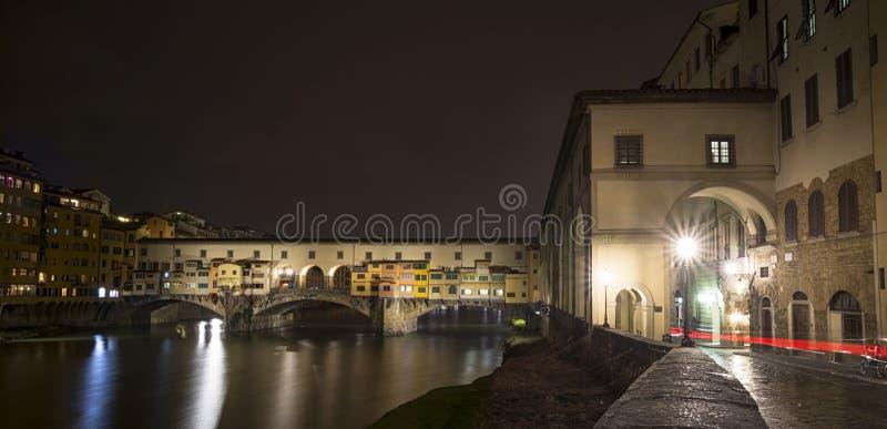 Florencja Ponte Vecchio fotografia stock