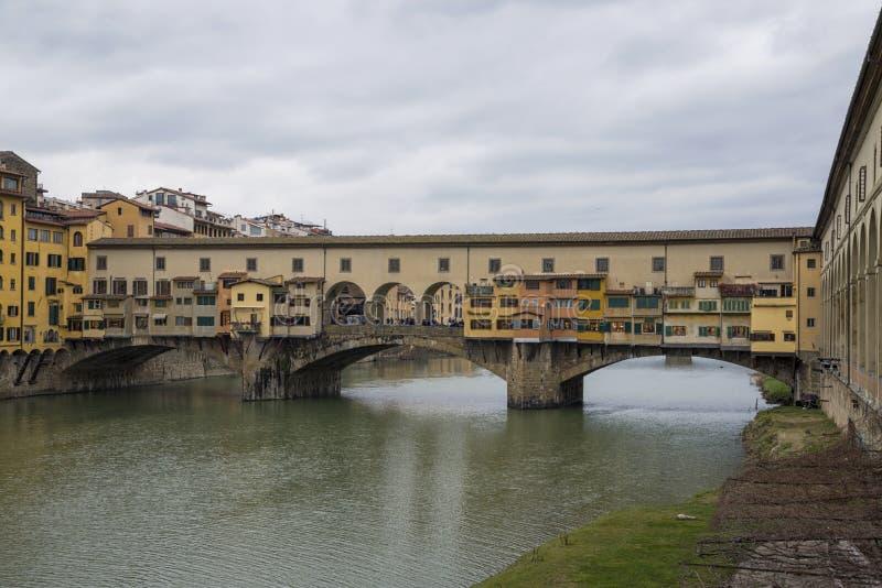 Florencja Ponte Vecchio zdjęcia royalty free