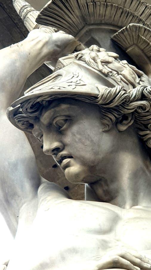 Florencja Signoria kwadrat fotografia stock