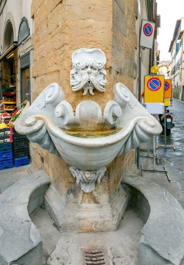 Florencja target3021_0_ fontanna fotografia royalty free