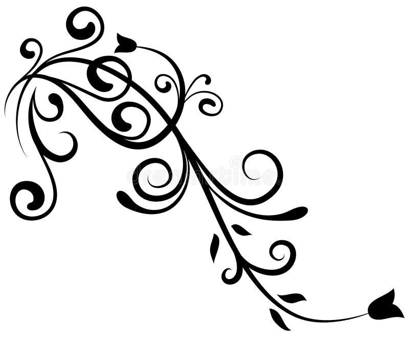 Florenelement 9 lizenzfreie abbildung
