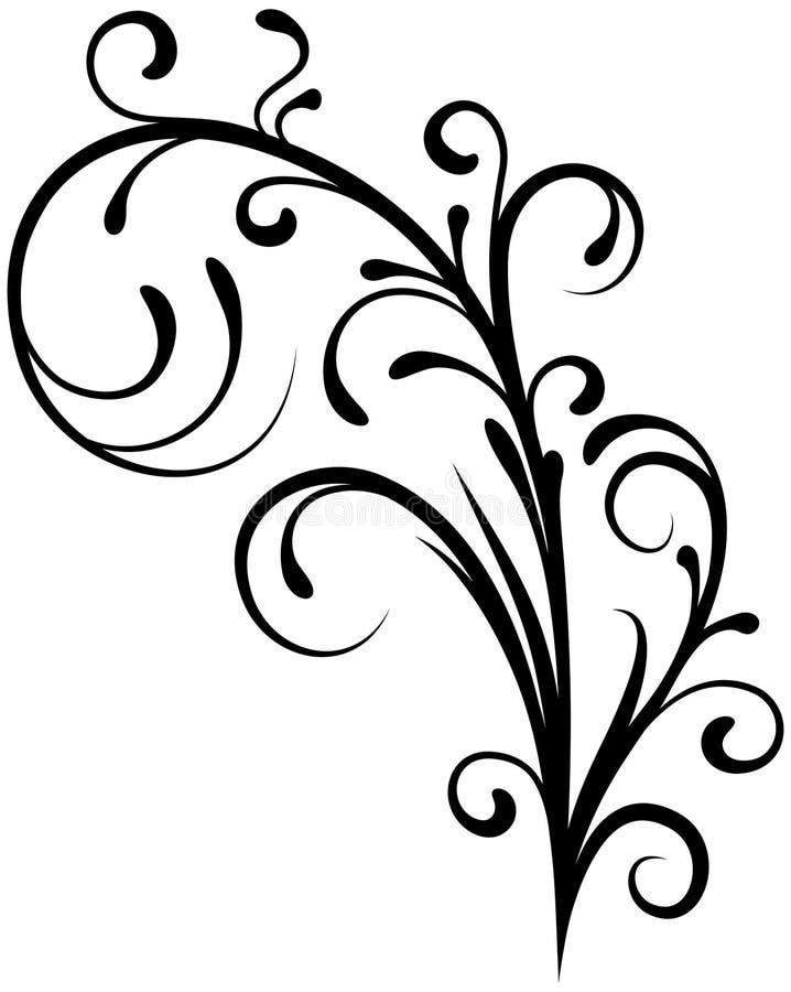 Florenelement 11 vektor abbildung