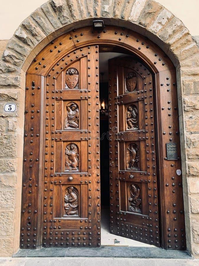Florentine Doors royaltyfria foton