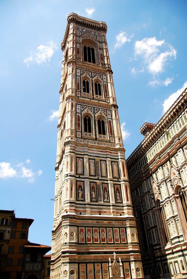 Florenz-Glockenturm lizenzfreies stockfoto