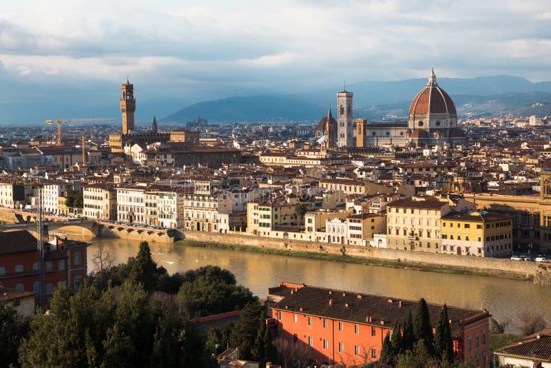 Florenz in Italien stockbild