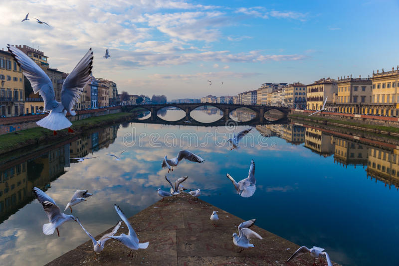 FLORENZ ITALIEN lizenzfreies stockbild