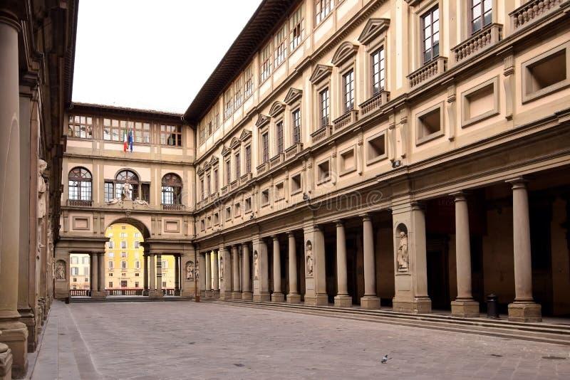 FLORENZ, ITALIEN - 17. SEPTEMBER 2017: Die Uffizi-Galerie in Flor stockfoto