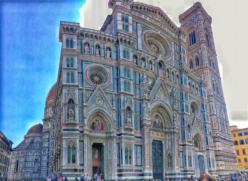 Florenz-Kathedrale -1a stockbilder