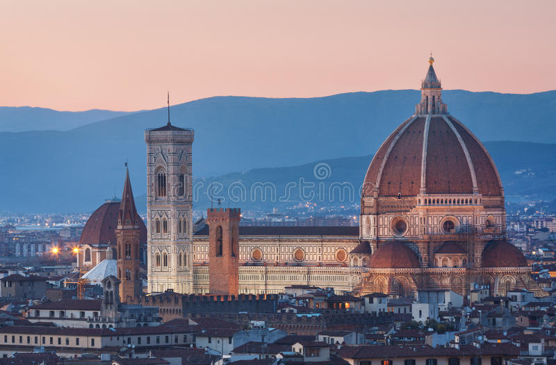 Florenz-Kathedrale stockbilder