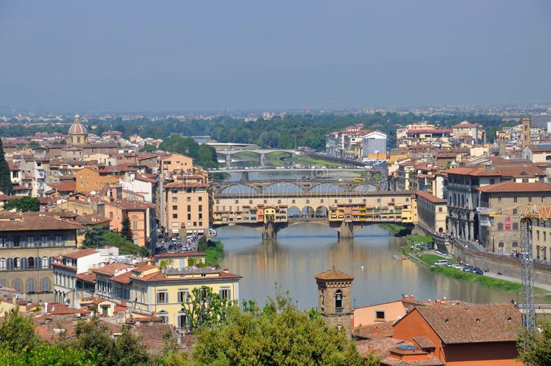 Florenz-Landschaft lizenzfreies stockfoto