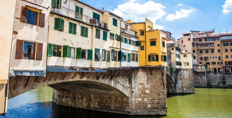 Florenz, Ponte Vecchio stockfotos