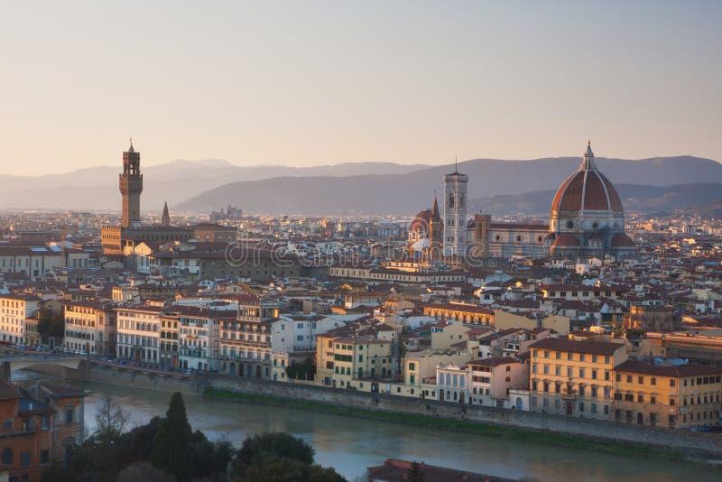 Florenz-Skyline lizenzfreies stockfoto