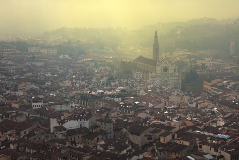 Florenz-Skyline stockfoto