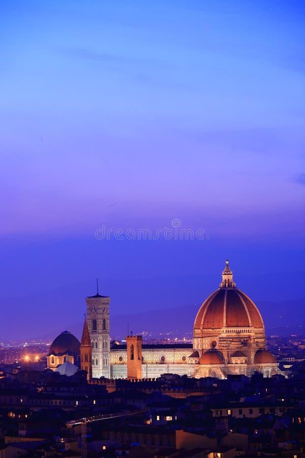 Florenz-Skyline Italien. lizenzfreie stockfotografie