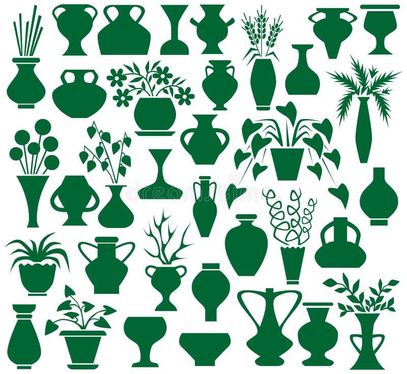 Florero stock de ilustración