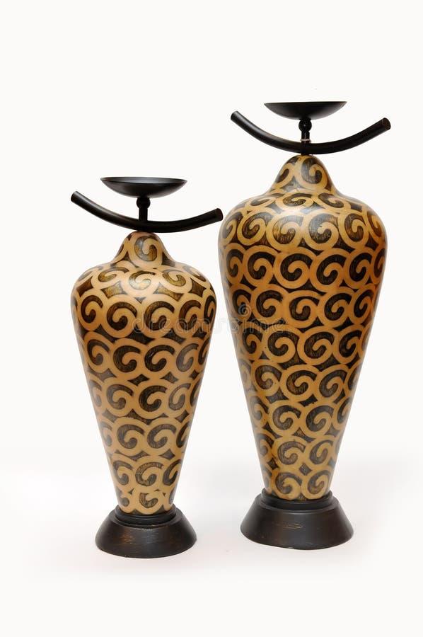 Florero chino de la cerámica imágenes de archivo libres de regalías