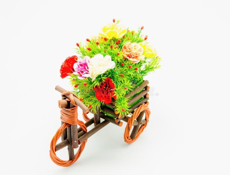 Florero de la bici imágenes de archivo libres de regalías