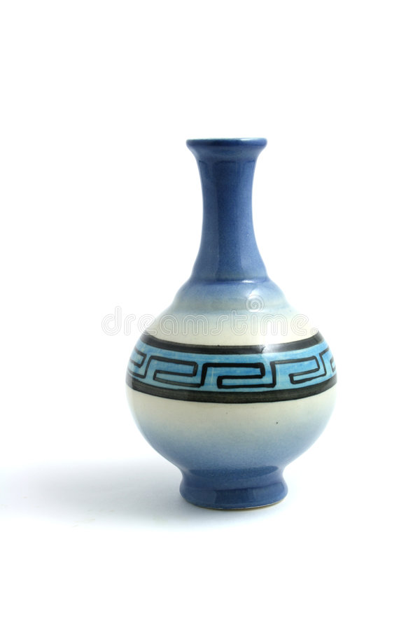 Florero de la porcelana fotografía de archivo