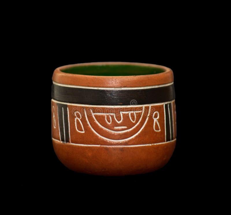 Florero del maya fotos de archivo