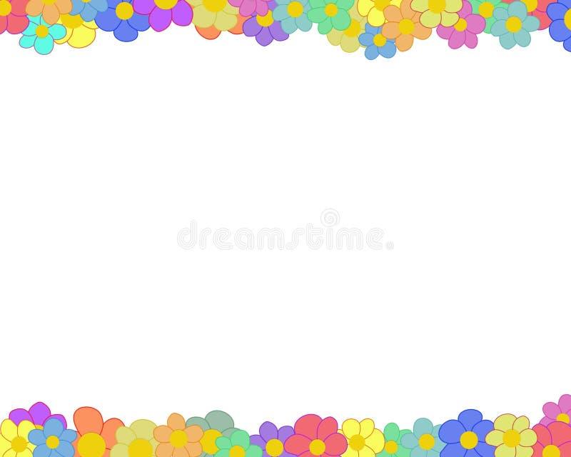 Download Floresça a beira ilustração stock. Ilustração de mola, gráfico - 533511
