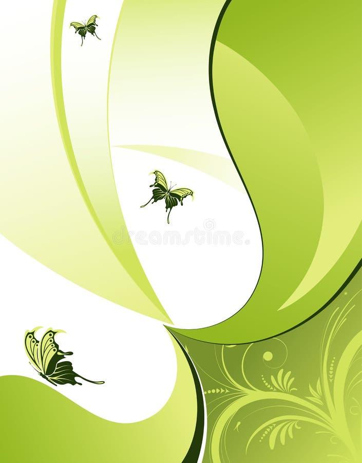 Floresça o fundo ilustração do vetor
