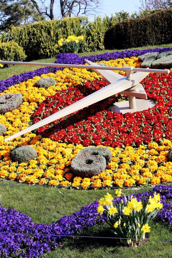 Floresça o pulso de disparo em Genebra, switzerland, relógio que faz a tradição foto de stock royalty free