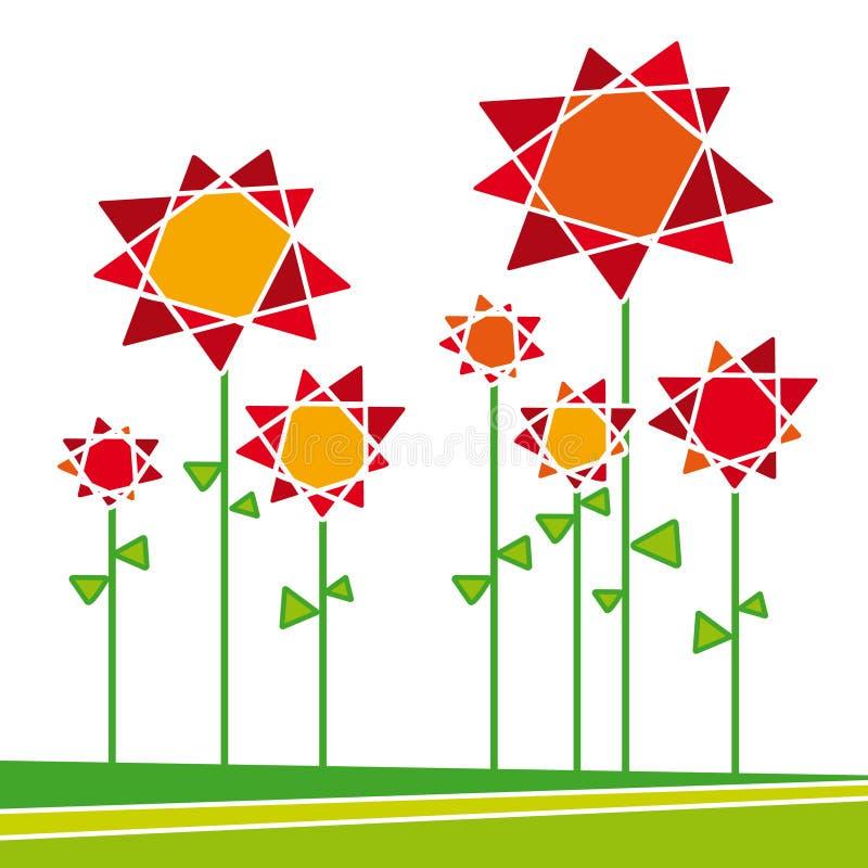 Download Flores 01 (vettore) illustrazione vettoriale. Illustrazione di botanica - 3886043