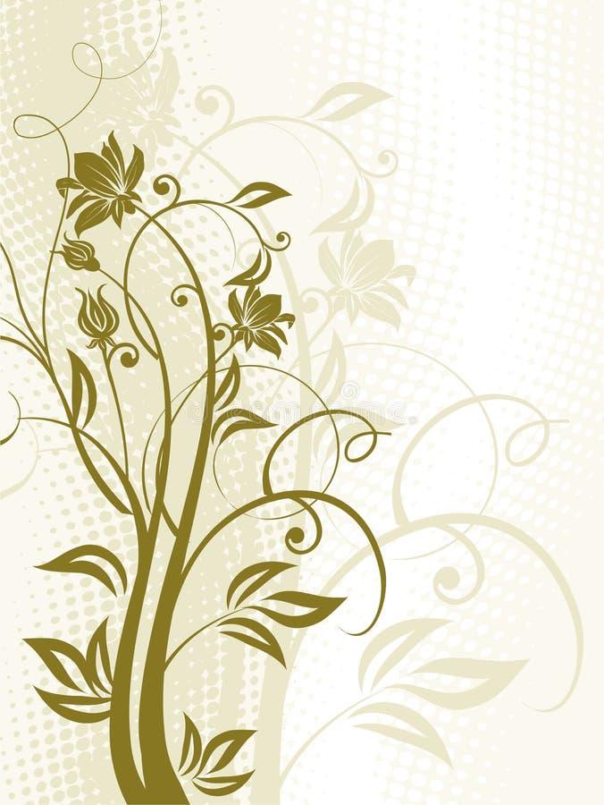 Flores. ilustración del vector