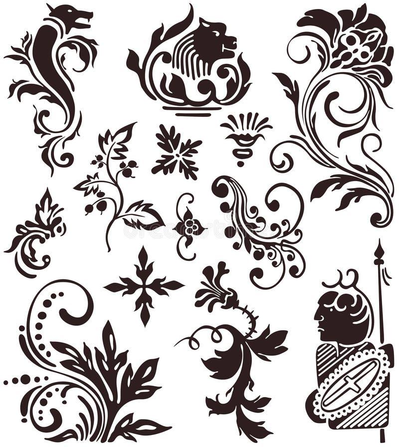 flores иллюстрация штока