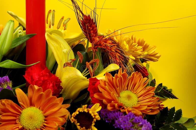 Flores 2 Del Día De Fiesta Fotografía de archivo
