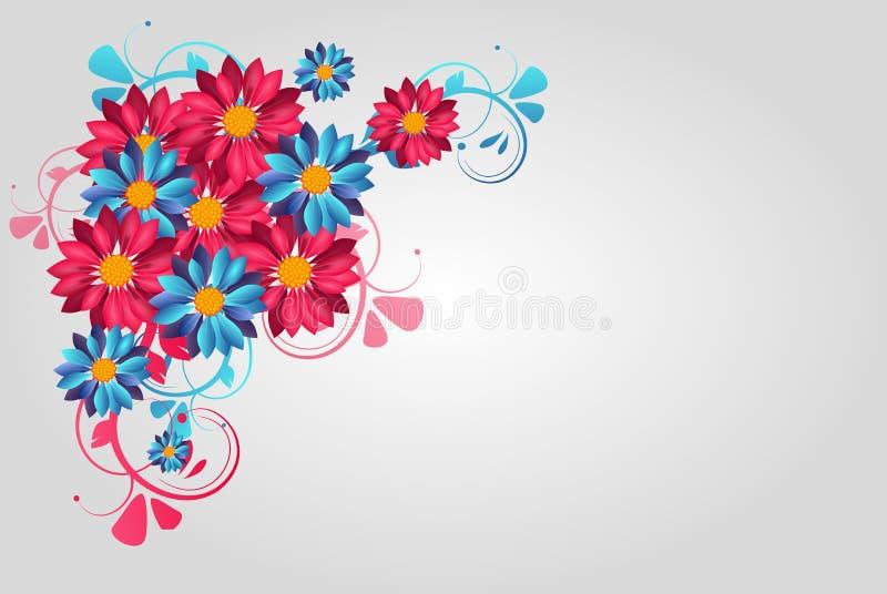 Flores 14 stock de ilustración