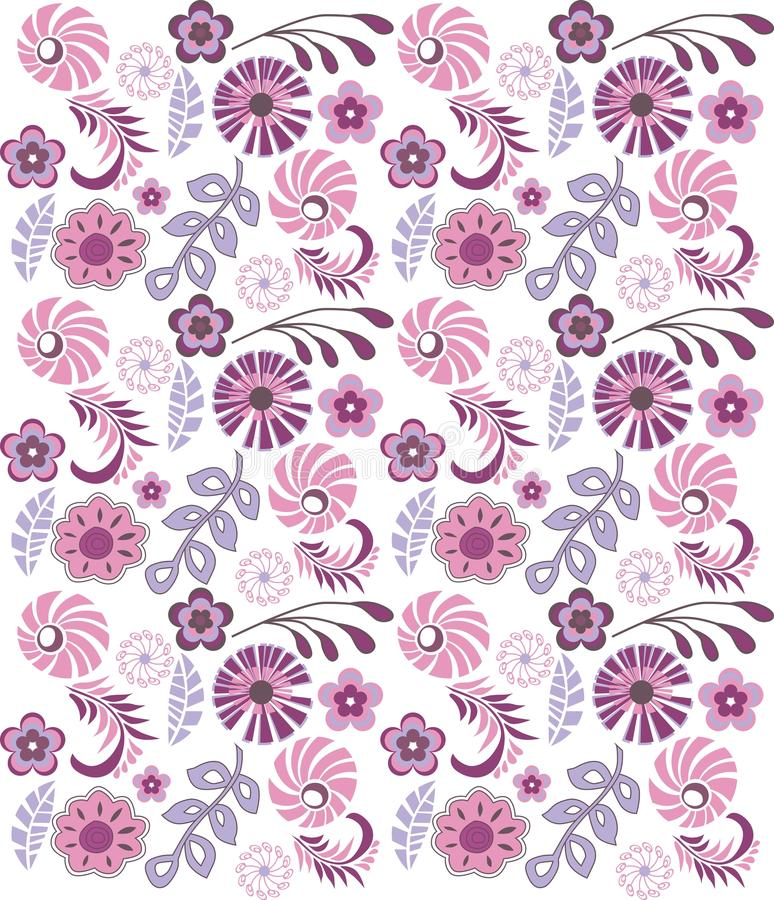 Flores abstractas foto de archivo