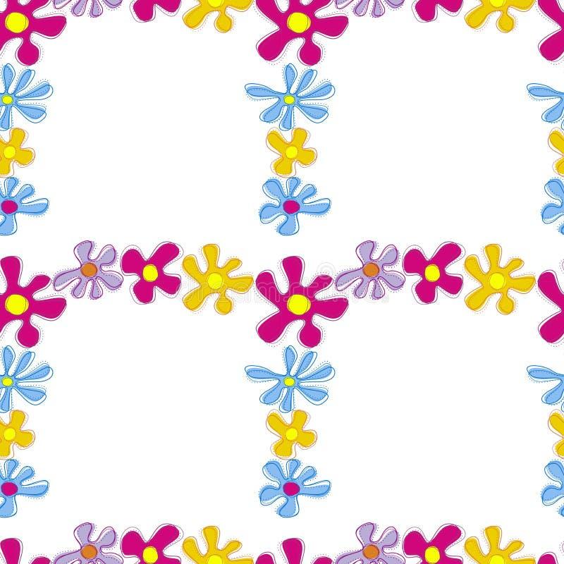 Flores abstratas imagem de stock royalty free